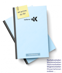Booklet - Textilbindung