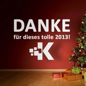 Kellerer sagt Danke für 2013!